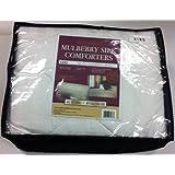 Mulberry Silk All Season Weight Comforter, King