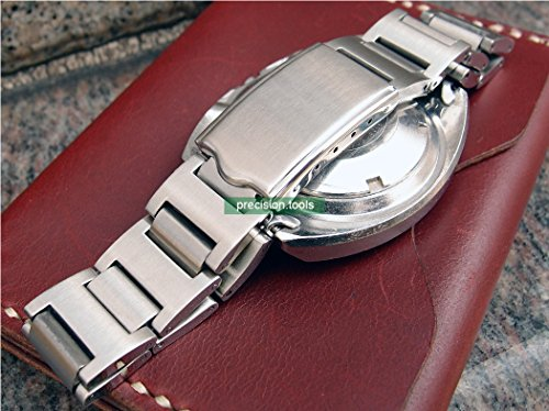 19mm Solid Stainless Steel Replacement Pouge Bracelet for Scuba 6139-6002 6005 6009