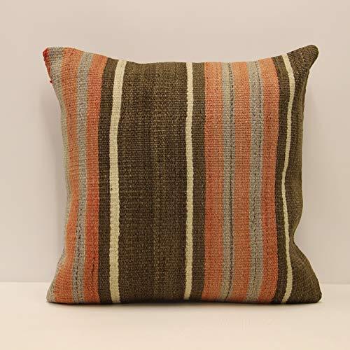 Turkish Kilim Pattern Accent Pillow  Turkish Accent Pillow   Turkish Throw Pillow  Kilim Accent Pillow  Decorative Kilim Pillow