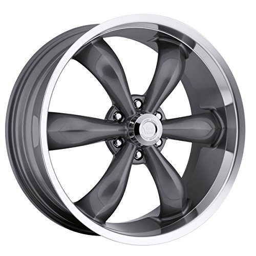 Vision Legend 6 142 Series Gun Metal Machined Lip Wheel (20x9.5