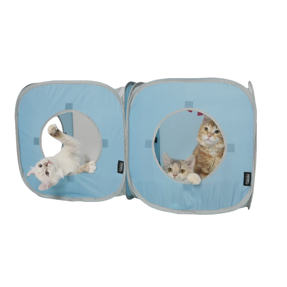 Pop Open Kitty Play Cube (Colors Vary) 15 inches x 15 inches x 15 inches