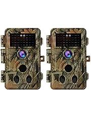 """BLAZEVIDEO 16MP 1080P Wildkamera Beutekamera, Digitale Wildtier Kamera mit Bewegungmelder und Nachtsicht, IP66 Wasserdicht, 2,4"""" Bildschirm"""