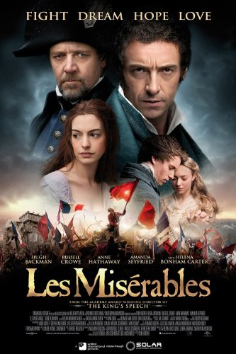 Les Miserables Poster 24x36 inch Hugh Jackman Russell Crowe High Quality Gloss Print 121