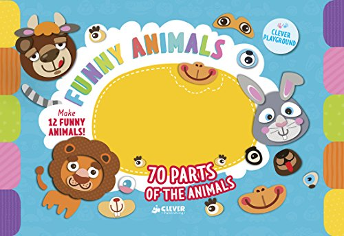 Funny Animals (Clever Games) by Clever Publishing