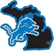 NFL Siskiyou Sports Fan Shop Detroit Lions Home State 11 Inch Magnet One Size Team Color