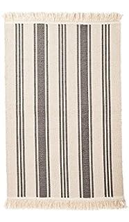 Ikea Teppich Signe Baumwolle 55 X 85cm Beige Blau Amazon De