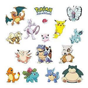 amazon com pokemoni wall stickers nursery decor popular characters