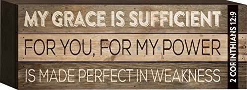 My Grace is Sufficient for You 2 Corinthians 12:9 4.5 x 12 i
