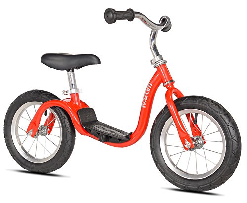KaZAM v2s No Pedal Balance Bike, 12-Inch, Metallic Red -  Kent International, Inc., 37376K