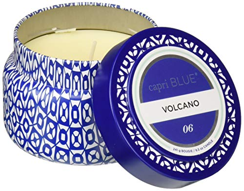 Capri Blue Volcano Printed Travel Tin Candle, 8.5 Ounce -