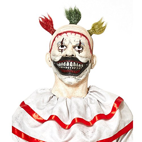 [American Horror Story Freak Show Twisty the Clown Mask -] (Twisty The Clown Costume Mask)