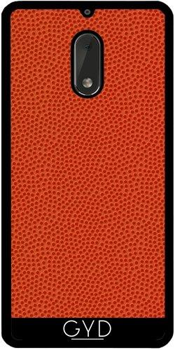 Funda de silicona para Nokia 6 - Baloncesto by wamdesign