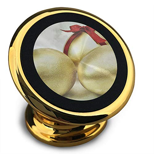 Baerg Universal Magnetic Phone Car Mounts Magnet Holder Three Golden Eggs Magnetic Mount for Phone 360° Rotation ()