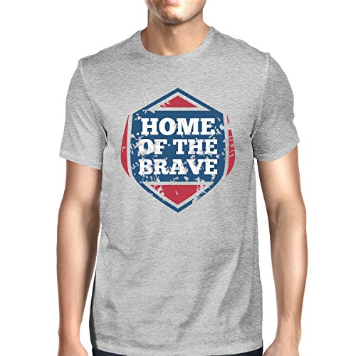 Size The corta Home para manga One hombre Camiseta Of Printing de 365 Brave zS8IqPC