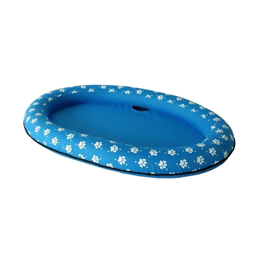Rafts for Dogs, Dog Swimming Pool   Paw Dog Pool Float, Inflatable & Collapsible, Great for Dog Cat Water Pool Playing And Bathing in Summer, 56