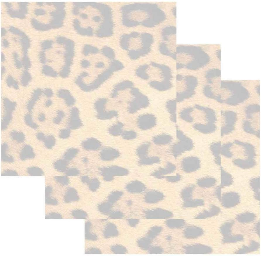 Leopard Print Sticky Notes - Set of 3 - Wildlife Animal Theme Design - Stationery Gift - Paper Memo Pad - Office Business School Supplies