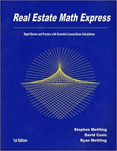 Buy Real Estate Math Express Rapid Review And Practice With