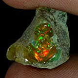 dadu_creation 16.60Cts.100% NATURAL FLASHING ETHIOPIAN OPAL ROUGH FINE QUALITY GEMSTONES