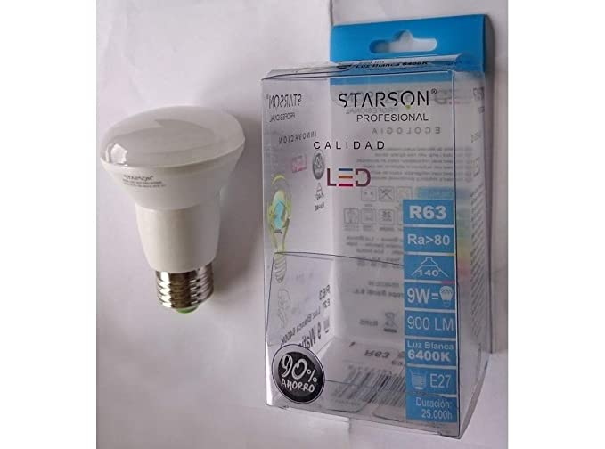 Starson Bombilla LED R63 2 G Profesional E27, Blanco