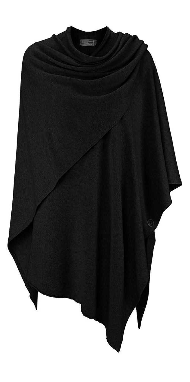 Poncho für Damen mit Kaschmir / Cashmere von Kurt Kölln ❤ Modischer All-Rounder für Frauen als Alternative zu einem Strickwaren / Pulli / Strick-Pullover / Cardigan / Cap oder Strick-Jacke