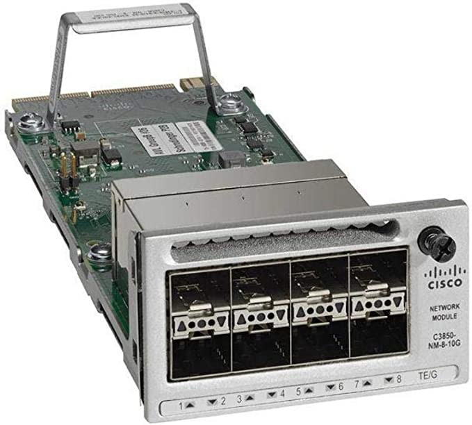 Amazon.com: Cisco Systems Catalyst 9300 8 X 10GE Network C9300-NM-8X=: Computers & Accessories
