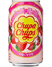 Chupa Chups Drink Strawberry 24 x 355 ml