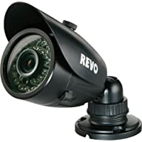 REVO RCBS30-3BNC 700 TVL Indoor-Outdoor Bullet Surveillance Camera with 100 ft. Night Vision - BNC Conversion Kit Included