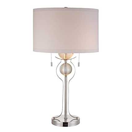 Stein World 96759 Table Lamp With Crystal Sphere Fonts Polished