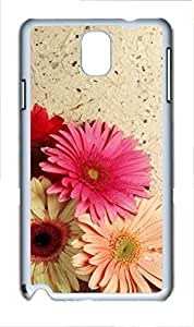 Fashion Style With Digital Art - Colorful Flower Skid PC Back Cover Case for Samsung Galaxy Note 3 N9000