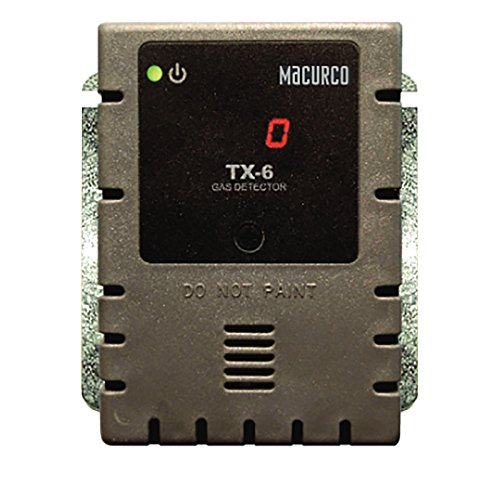 Macurco TX-6-HS Hydrogen Sulfide H2S (Low Voltage) Fixed Gas Detector Controller Transducer