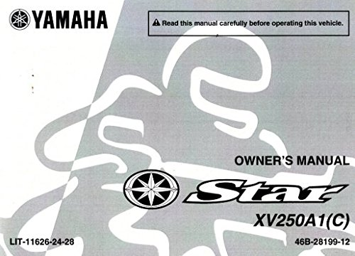 lit 11626 24 28 2011 yamaha xv250 v star motorcycle owners manual rh amazon com yamaha v star 1100 owners manual yamaha v star 950 owners manual 2009