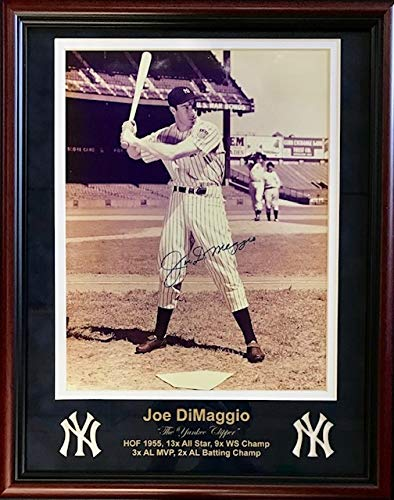 - Joe DiMaggio Autographed Framed 11x14 Photo (JSA)