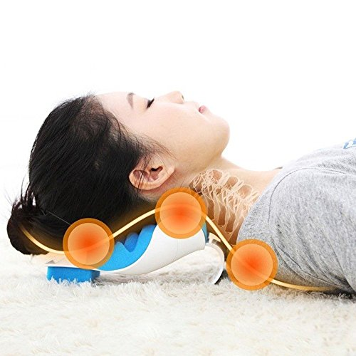 Correlated Neck And Shoulder Relaxer Traction Device For