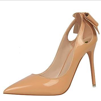 66a3a7eaf Zapatos De Tacón Zapatos Zapatos para Mujer Zapatos De Boda Sexy Slim  Zapatos De Tacón Alto