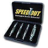 SpeedOut Extractor de tornillos Dañados –Juego de extractores de pernos
