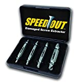 SpeedOut Damaged Screw Extractor & Bolt Extractor Set
