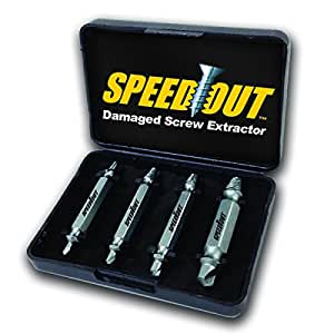 Ontel SpeedOut Damaged Screw Extractor & Bolt Extractor Set