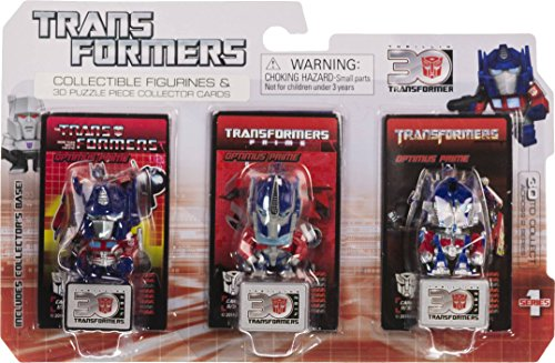 "Optimus Prime ~1.25"" Mini-Figures (Transformers The Movie, Transformers Prime, G1): Transformers 30th Anniversary Series"