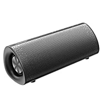 Bluetooth Speaker,Tronsmart Element Pixie Portable Wireless Speaker with Built-in Mic,15W Super Bass,Double Passive Radiators,True Wireless Stereo,15-hour Playtime, Hands-Free Calling , 3.5mm Audio Cable For Phones Computer Home Party Riding Hiking Camping