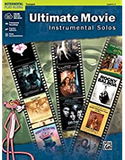Ultimate Movie Instrumental Solos: Trumpet, Book and Online Audio/Software/PDF