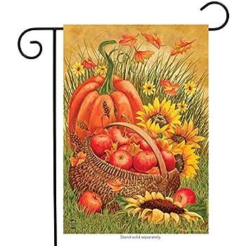 "Autumn Display Birds Garden Flag Fall Apples Floral 12.5/"" x 18/"" Briarwood Lane"