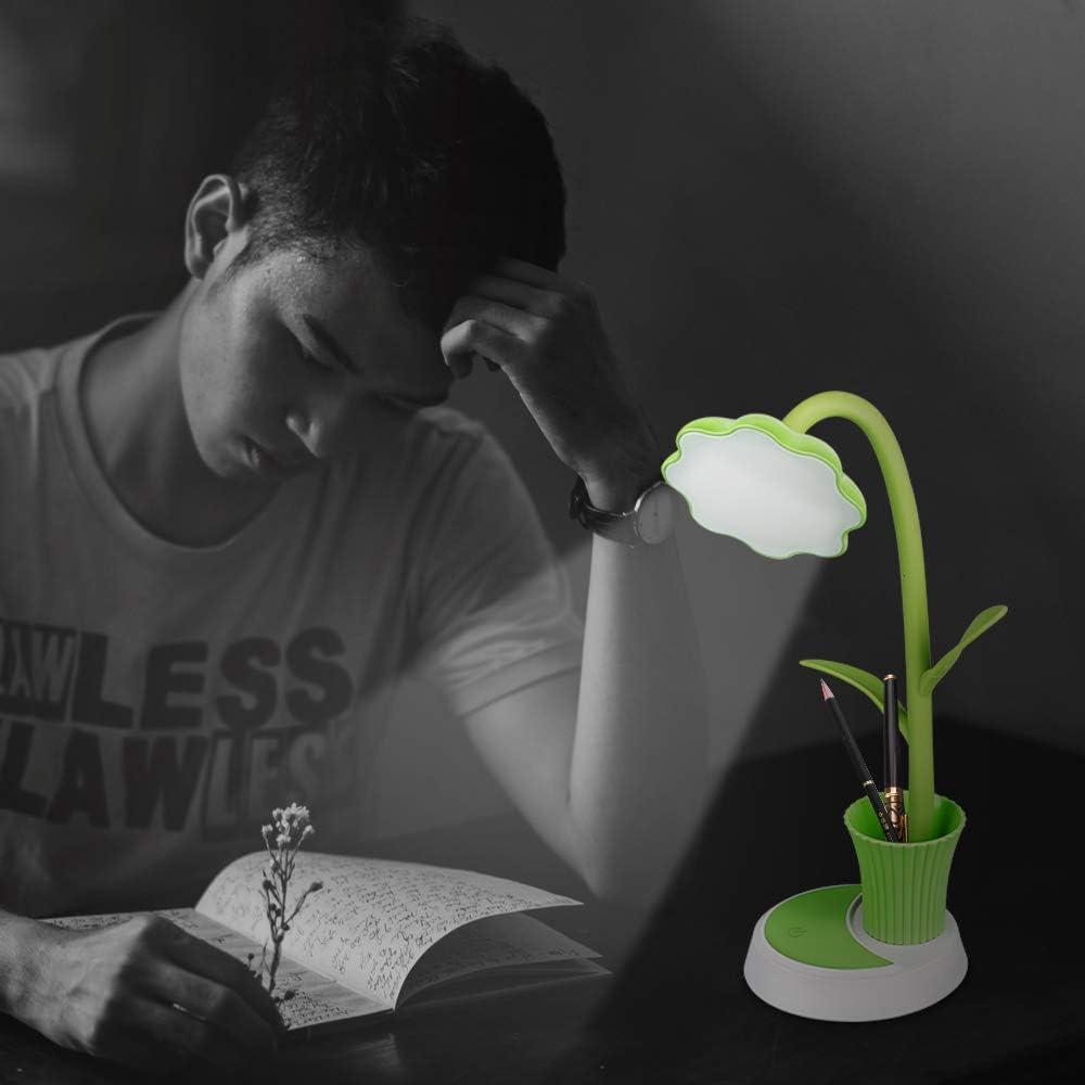 Zorara Lampada da Scrivania Lampada da Tavolo Protezione Degli Occhi Rosa 3 modalit/à di illuminazione con 5 livelli di luminosit/à,Touch Control Lampada da Scrivania da LED Sooair