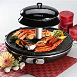 ZAIGLE ZR-0907 Infrared Ray Well-being Roaster Indoor Electric Grill BLACK