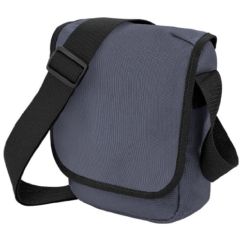 Blue 2 Mini Adjustable Bag Reporter Bagbase Messenger Navy Litres French Sky fC4vpq