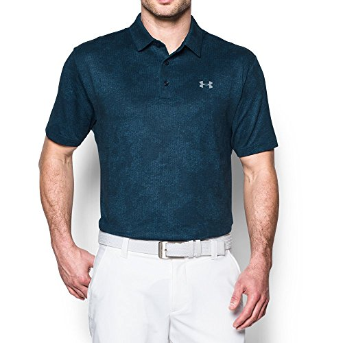 Under Armour Gray Shirt (Under Armour Men's Playoff Polo, Academy/Overcast Gray, X-Large)