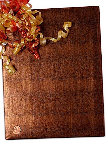 """24"""" X 15' Ming Bronze Wood Grain Paper"""