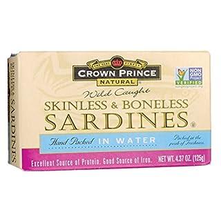 Crown Prince Skinless & Boneless Sardines, 4.37 oz