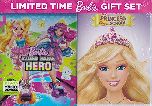 Barbie Video Game Hero / Princess Charm School (Super Movie Hero Barbie)