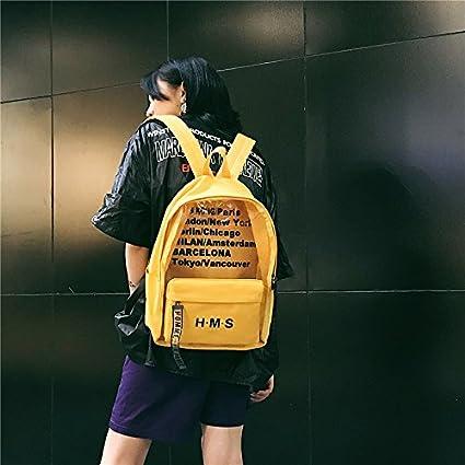 Mochilas Escolares para Estudiantes de Secundaria, Mochilas universitarias Coreanas, Bolsas para Hombres de Sen