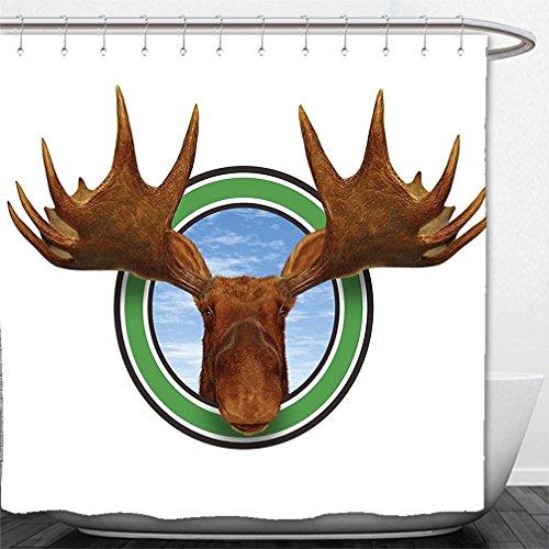 singing deer head - 4
